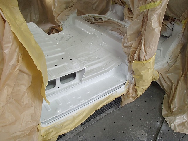 DA64V エブリイ センターF 断熱 塗装