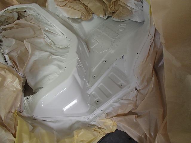 DA64V エブリイ フロントF 断熱 塗装